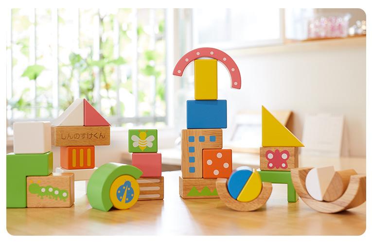 エデュテ人気NO.1の木のおもちゃの積み木「SOUNDブロックスlarge」