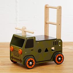 1歳誕生日プレゼント男の子へランキング3位「ウォーカー&ライドアーミートラック」