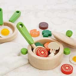 3歳誕生日プレゼントコミュニケーション力を育むランキング3位「キッチンウェア」