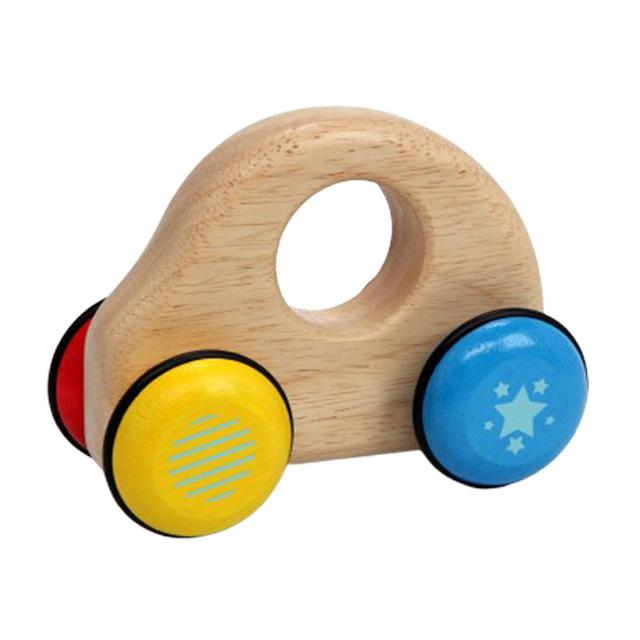 車や乗り物のおもちゃをハーフバースデーに