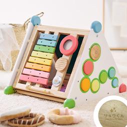 1歳の木のおもちゃランキング2位のママ推奨の多機能な指先知育「指先レッスンBOX」