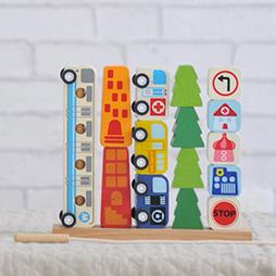 1歳誕生日プレゼント男の子へランキング1位「ソート&カウントシティ」