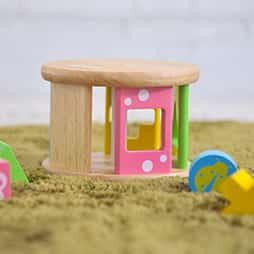 積み木ランキング3位型はめパズルが楽しめる木のおもちゃKOROKOROパズル