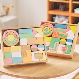 名入れランキング1位人気の積み木に名入れで特別な木のおもちゃのプレゼントに人気のSOUNDブロックスlarge