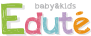 安全・安心をキーワードに開発した かわいいパステルカラーのエデュテオリジナルの木のおもちゃ・知育玩具ブランド「Edute baby&kids(エデュテベビーアンドキッズ)」