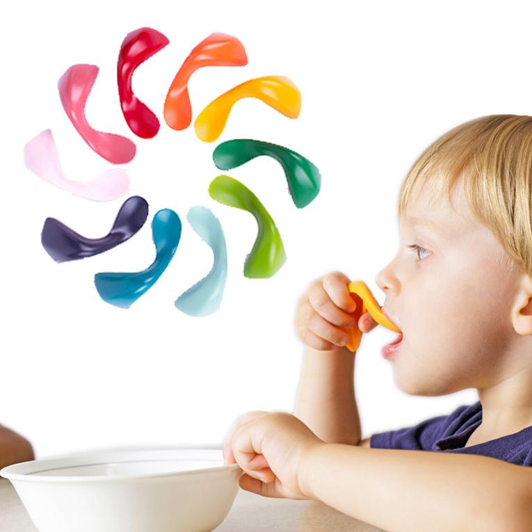 赤ちゃんが自分で食べるを応援するベビースプーン「kizingo(キジンゴ)」