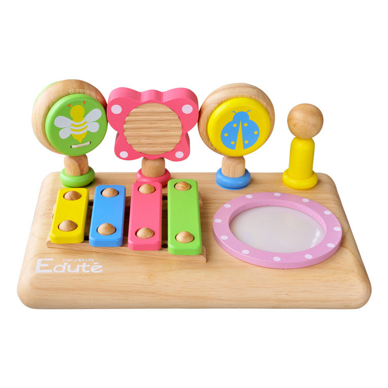 赤ちゃんに初めての楽器はファーストミュージックセット