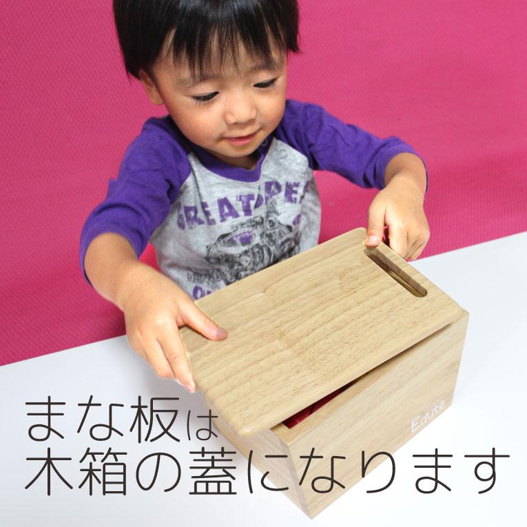 まな板は木箱の蓋に