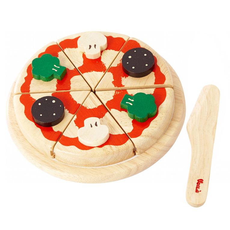 3歳のお誕生日ににぴったりなピザのおままごとおもちゃ