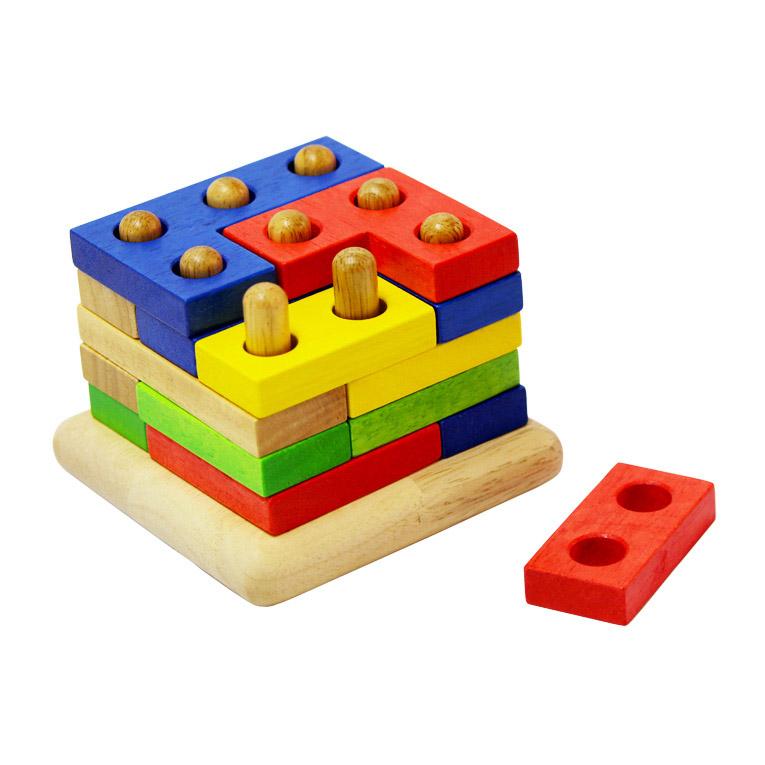3歳~99歳まで楽しめる立体パズル