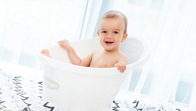 シュナグルのベビーバス,赤ちゃんのお風呂