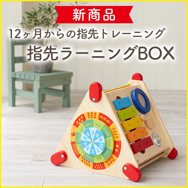 12か月からの知育玩具「指先ラーニングBOX」