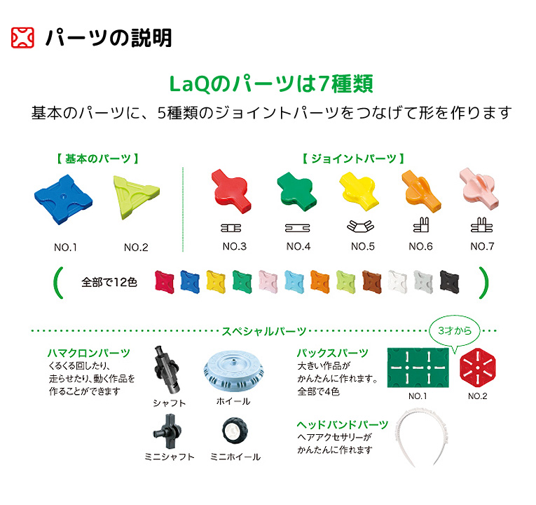知育ブロックLaQ(ラキュー)ハマクロンコンストラクター ポリスカー