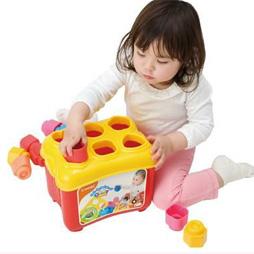 1歳のパズルランキング3位ベビークレミーやわらかブロックパズルセット