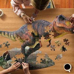 3歳積み木ランキング2位「アニマルビッグパズル 100ピース 恐竜」