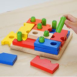 3歳パズルランキング2位「ボイラパズル1」