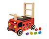 赤ちゃんがあんよの練習に楽しめる手押し車の木のおもちゃ