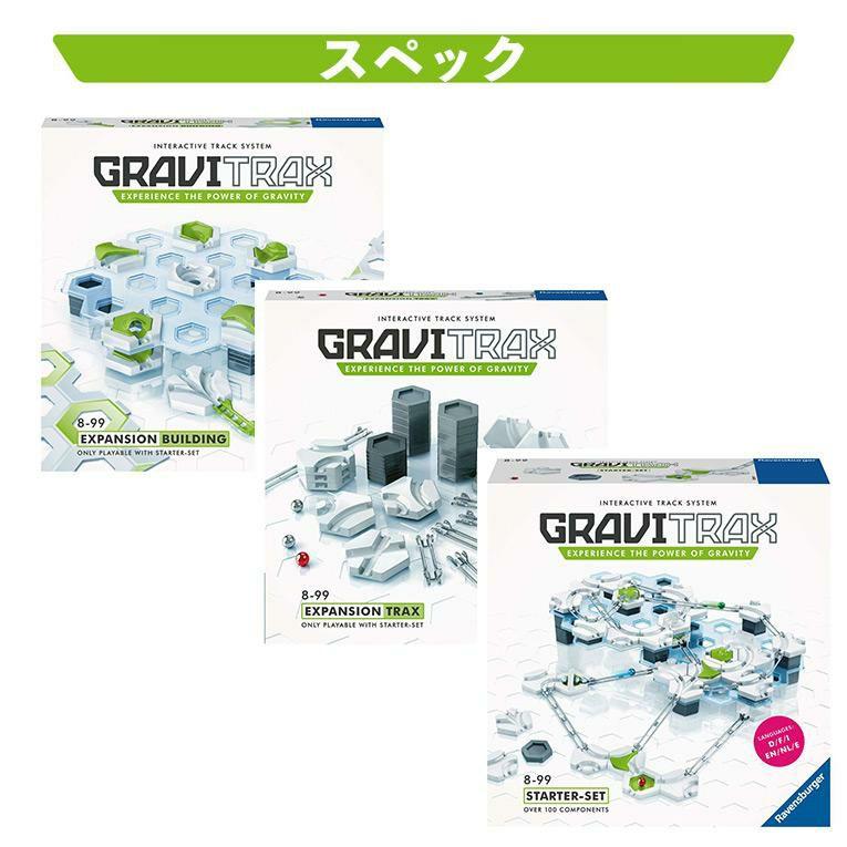 スターター+拡張セット<8歳>GraviTrax (グラヴィトラックス)