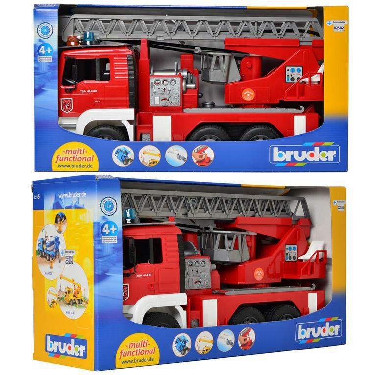 ブルーダー MAN 消防車<3歳>Bruder ブルーダー