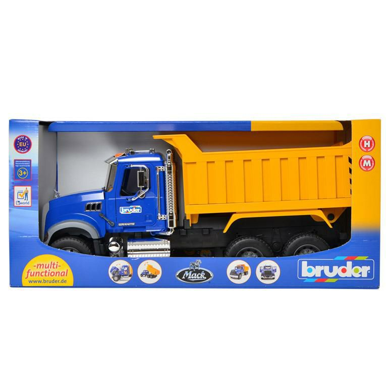 ブルーダー MACK Tip upトラック<3歳>Bruder ブルーダー