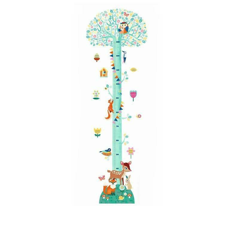 身長計ブロッサミングツリー<1歳2歳3歳>DJECO ジェコ