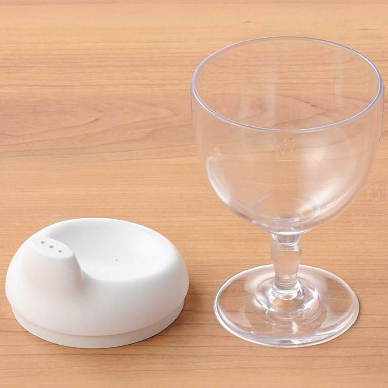 グラス&キャップ ソムリエ ホワイト<0歳1歳2歳3歳>Reale レアーレ