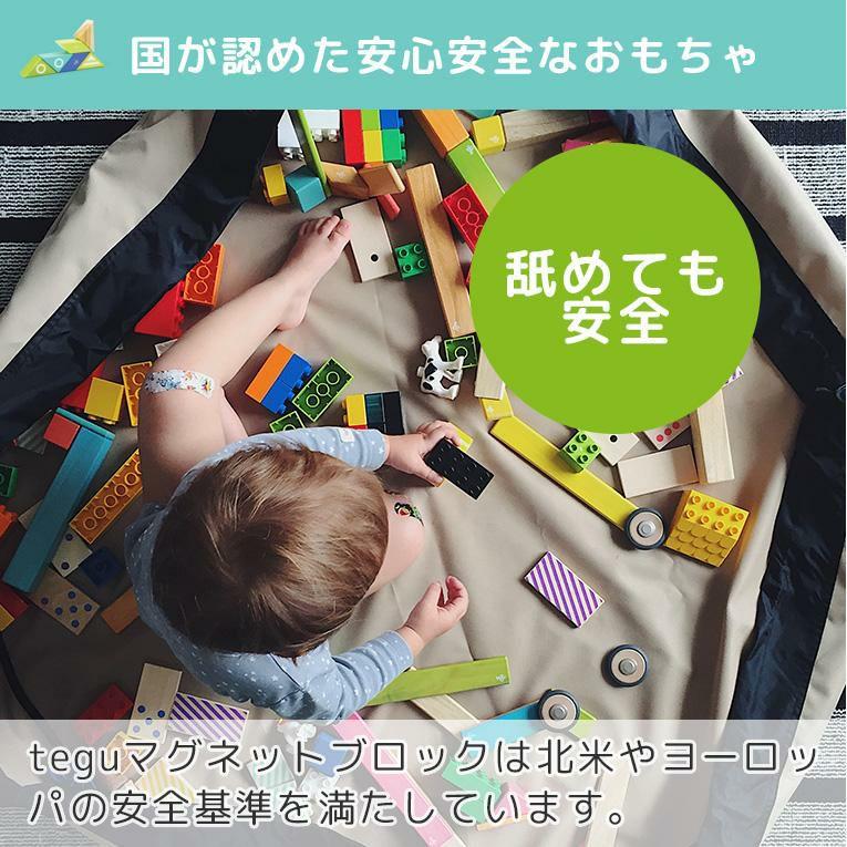 tegu 24ピース ティント<0歳1歳2歳>tegu テグ