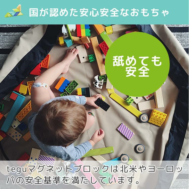 tegu 6ピース コトリ<0歳1歳2歳>tegu テグ