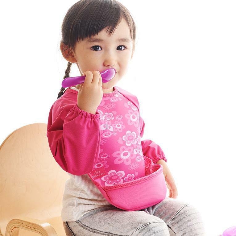 ラグランスリーブ付き ウルトラビブ<0歳1歳2歳>Bibetta ビベッタ