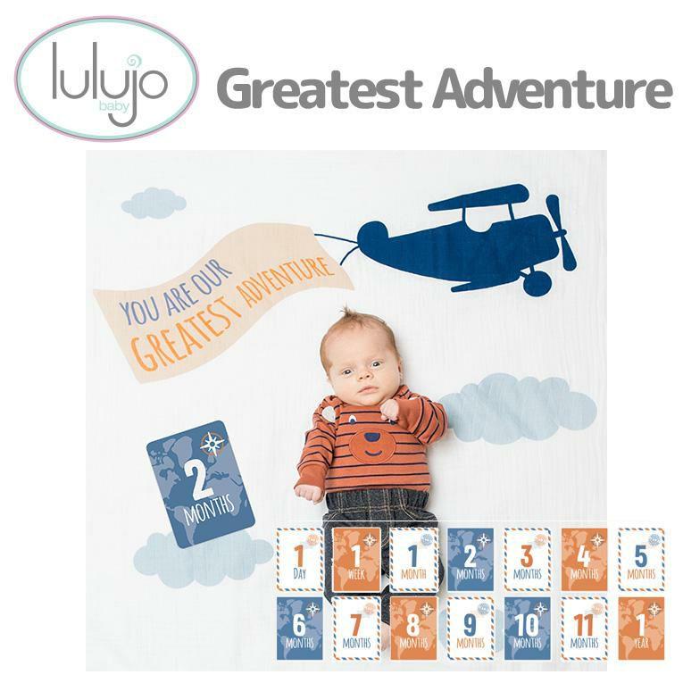 マイルストーンカードセット Greatest Adventure<0歳1歳2歳3歳>lulujo ルルジョ