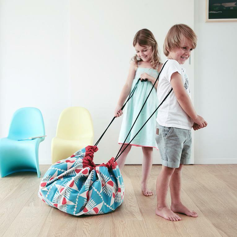 2in1 ストレージバッグ プレイマット デザイナーコラボ<0歳1歳2歳3歳>Play&Go プレイ&ゴー