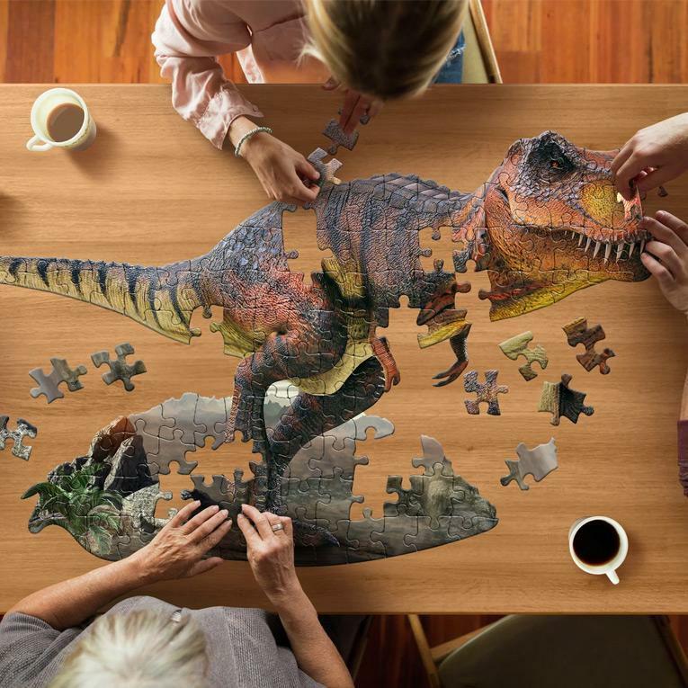 アニマルビッグパズル 100ピース 恐竜<4歳5歳6歳>MaddCappPuzzles(マッドキャップパズル)