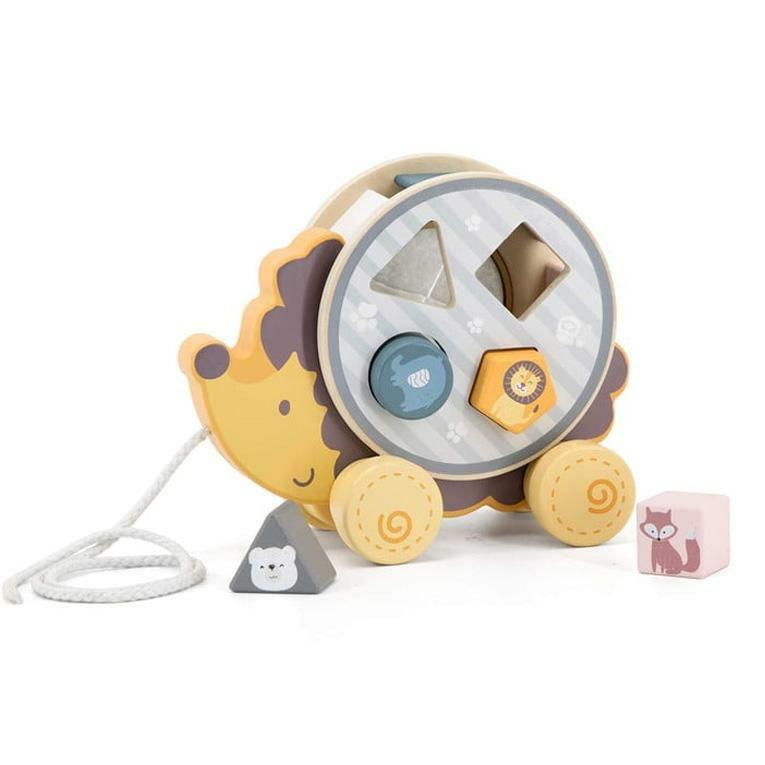 ソーティングプルトイ・はりねずみ<24ヶ月 2歳>PolarB(ポーラービー)